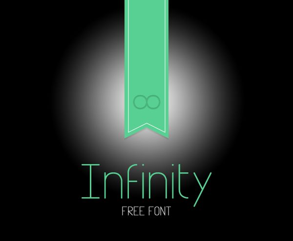 Infinity-free font