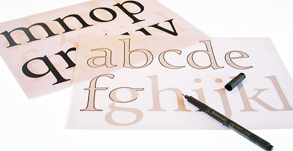 Vinta-free font