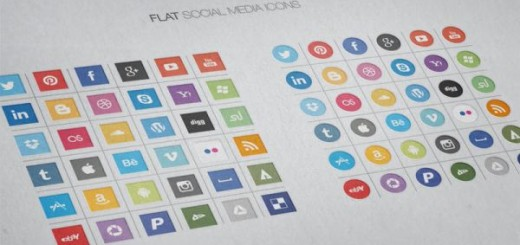 free-flat-social-icons