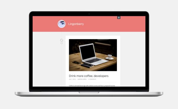 Lingonberry-Free WordPress Theme by Anders Norén