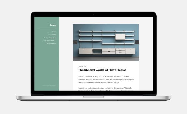 Rams-Free WordPress Theme by Anders Norén