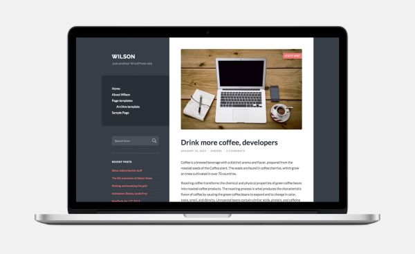 Wilson-Free WordPress Theme by Anders Norén