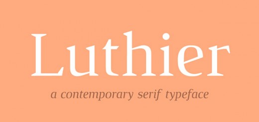 luthier-free-font