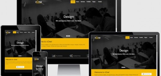 vOne-Free Corporate Responsive HTML5 Template