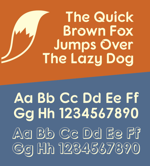 Fntaro-free font