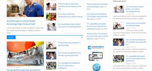 HR News-free wordpress magazine theme