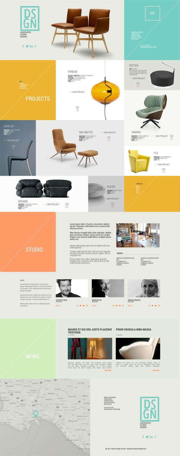 DSGN-free PSD template