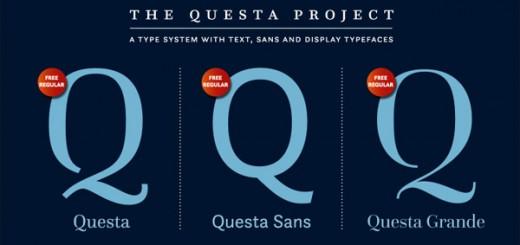 Questa-free-font