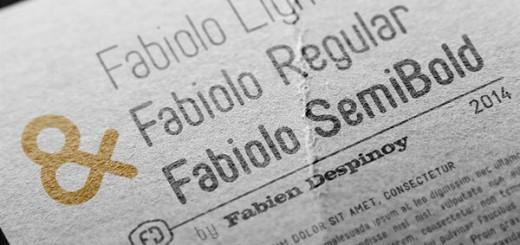 Fabiolo-free font