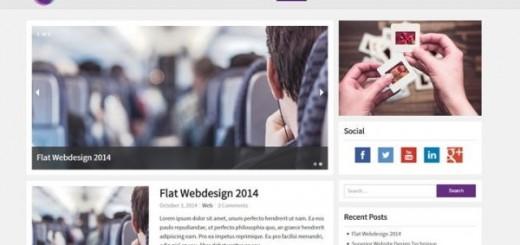 MioMio-free flat responsive wordpress theme