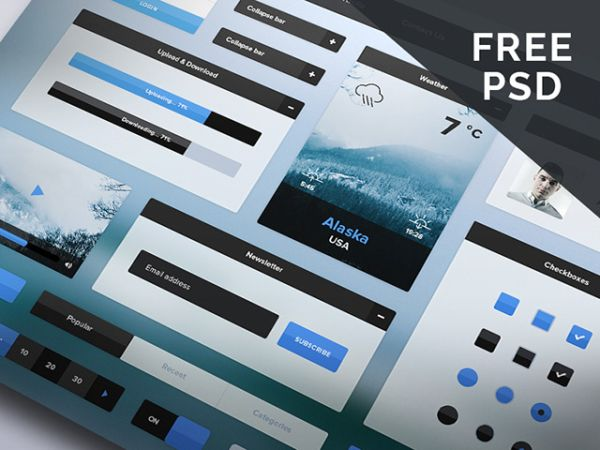 Winter-free Ui kit