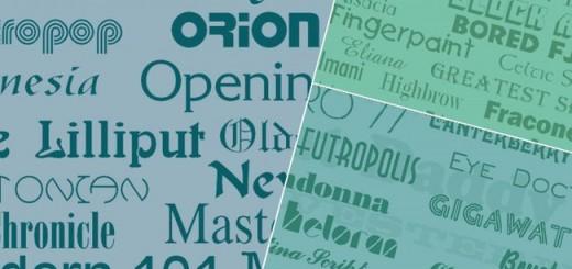 1000 free opentype fonts