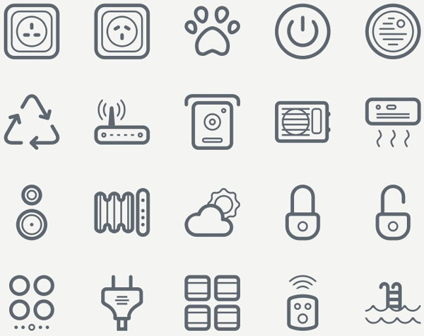 40 FREE SMART HOUSE ICONS