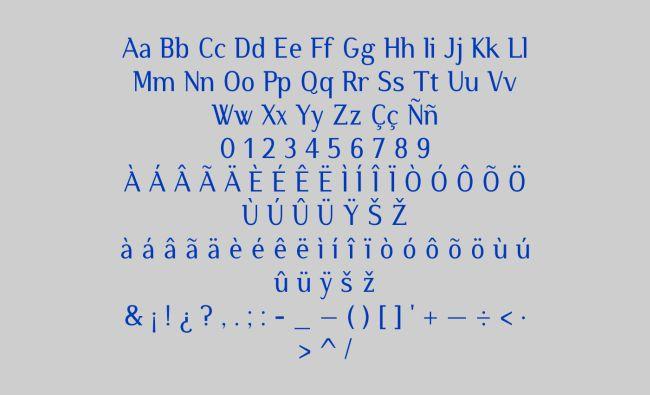 Atzur-free font
