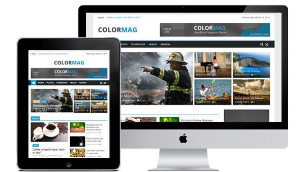 Colormag-free magazine WordPress theme