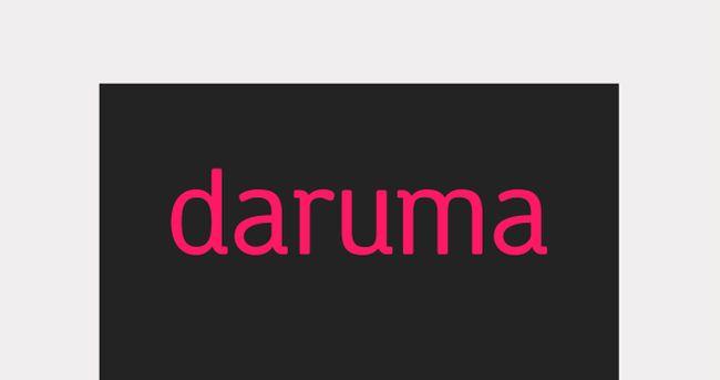Daruma free font
