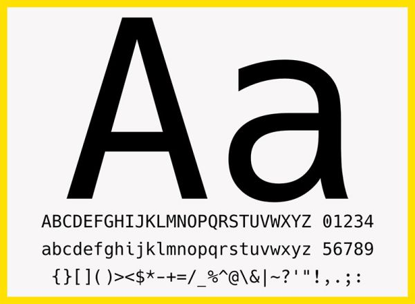 Hack - Free Open Source Typeface
