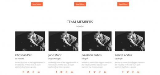 Patros-free Bootstrap template