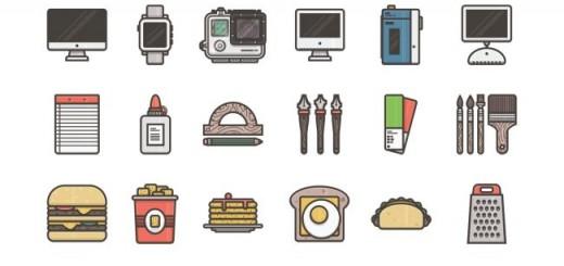 illustricons-free icon set
