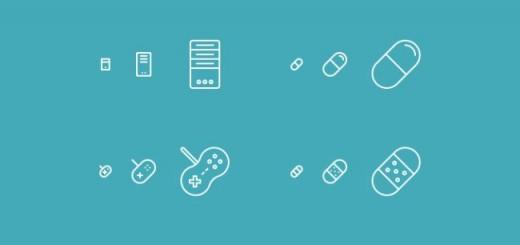 100 free responsive line icons