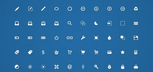 200 Handcrafted Free Micro Icons (PSD)