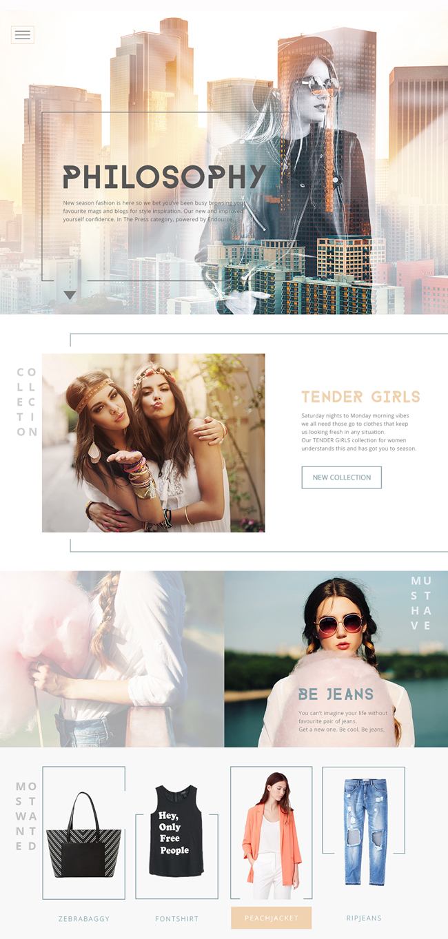 Free-fashion-web-store-template