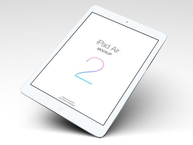 Free iPad Air 2 mockup
