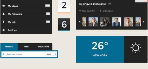 Square-Free HTML5 CSS3 UI Kit