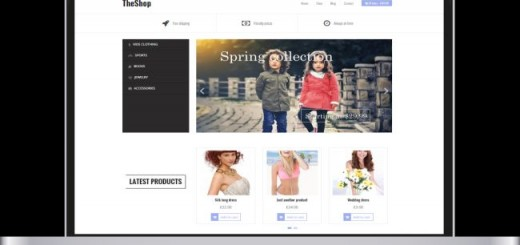 TheShop-free e-commerce Wordpress theme