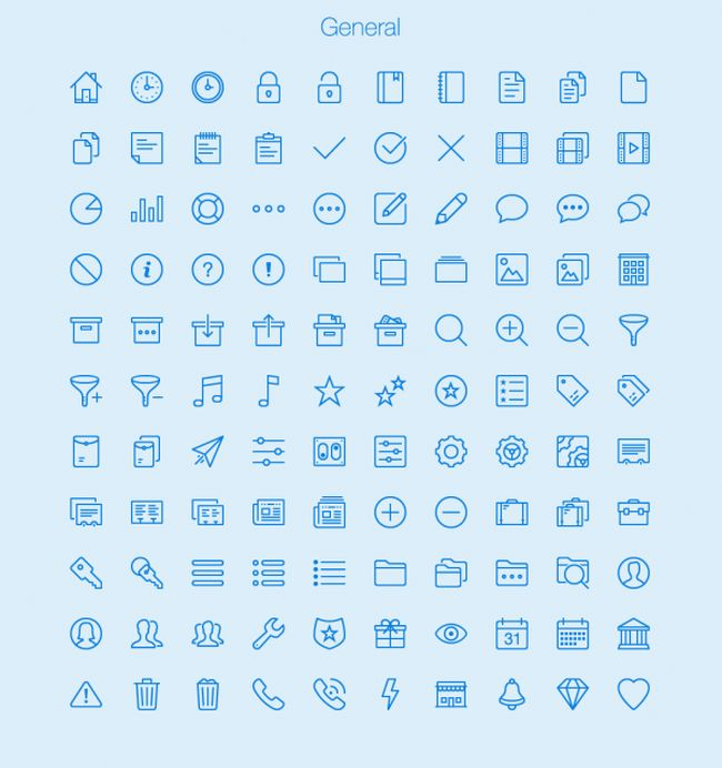450 Free Outline Icons