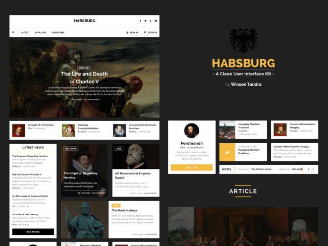 Habsburg-Free UI Kit