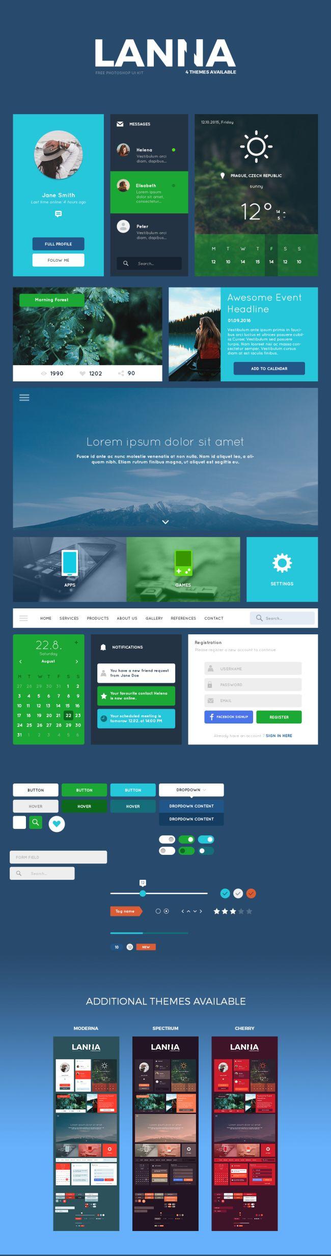 Lanna-free UI Kit