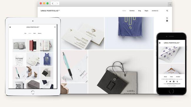 Urku-Free HTML5 Portfolio Website