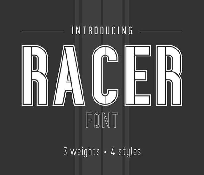 RACER - Free Font