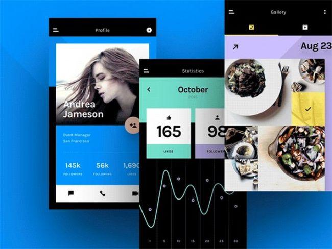 Chat - Free Mobile UI Kit