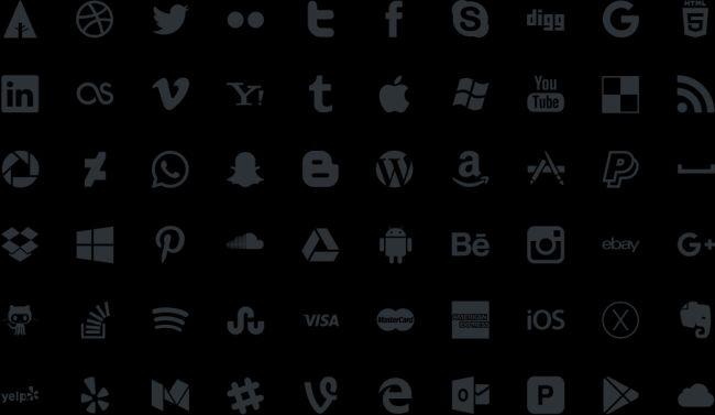 Picons - Free Social Media Vector Icons