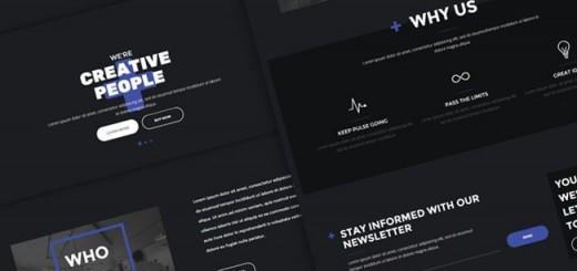 Ten+ - Free HTML Template for Digital Agencies