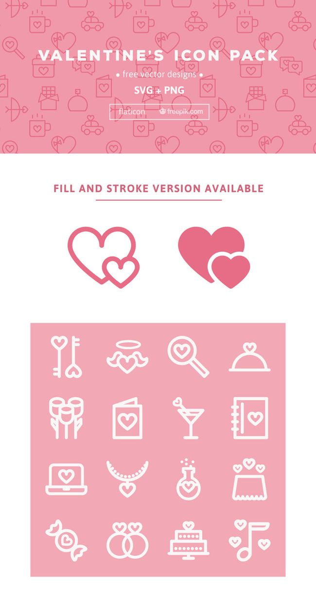 Valentine's Day Web Icons - Free Download