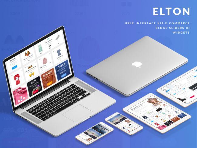 Elton - Free UI Kit