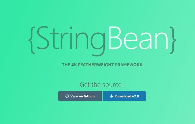 StringBean–Responsive CSS Framework