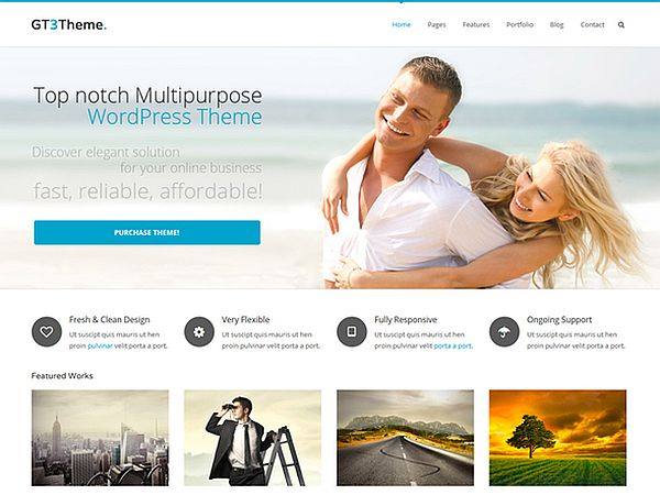 GT3-FREE BUSINESS WORDPRESS THEME