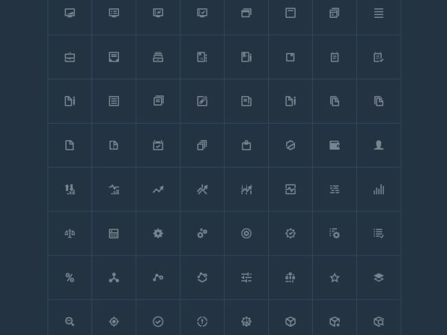 FREE ANALYTIC ICONS (AI, EPS)