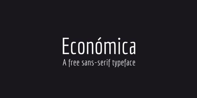 Economica Free Font Family