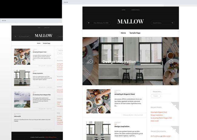 Mallow - Free Responsive Magazine Theme