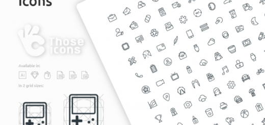 Free Icon Set by Those Icons