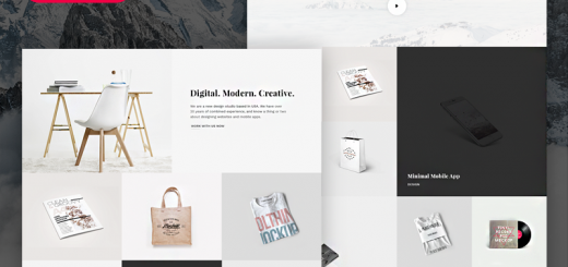 Snow-free html template